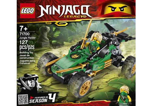 Lego Ninjago-Le buggy de la jungle