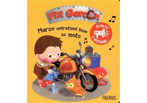 Marco entretient bien sa moto