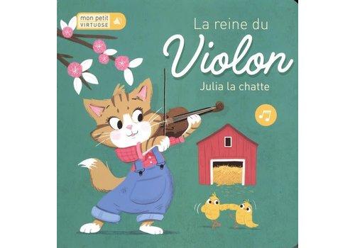 Reine du violon La  Julia la chatte