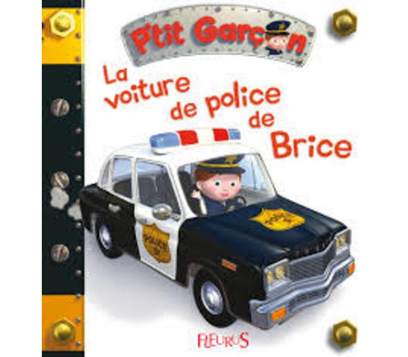 La voiture de police de Brice