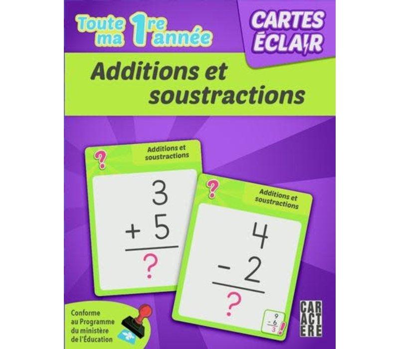 1re année - Additions et soustractions