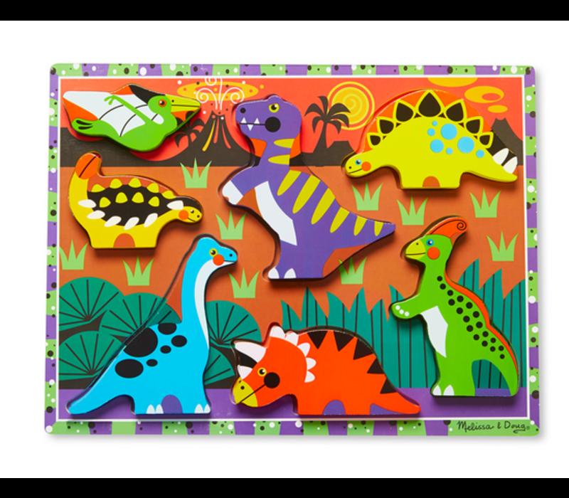 Dinosaurs - Casse-tête à encastrements, les dinosaures