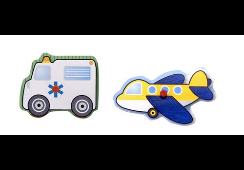 Melissa & Doug Vehicles - Casse-tête à encastrement les véhicules