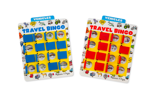 Melissa & Doug Travel Bingo - Jeu de voyage bingo