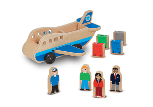 Melissa & Doug Copy of Airplane - Avion en bois