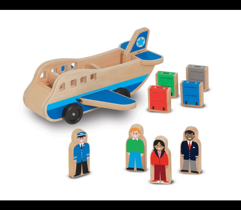 Airplane - Avion en bois