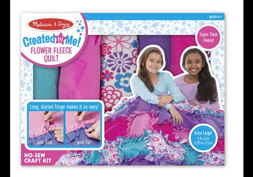 Melissa & Doug Flower Fleece Quilt - Couverture à fabriquer