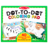 Melissa & Doug 123 Dot-to-Dot─Pets - Coloriage point à point, les animaux de compagnie