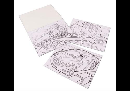 Melissa & Doug Vehicles - Cahier à colorier jumbo, les animaux