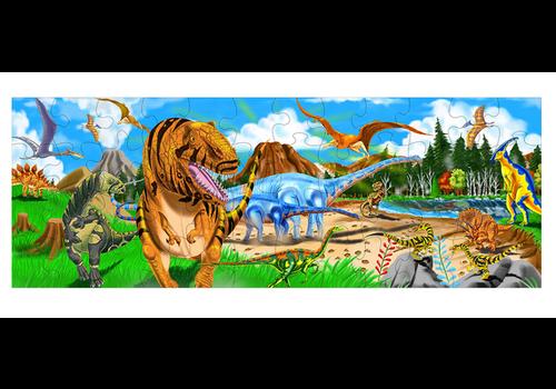 Melissa & Doug Land of Dinosaurs - Casse-tête terre de dinosaures 48 morceaux