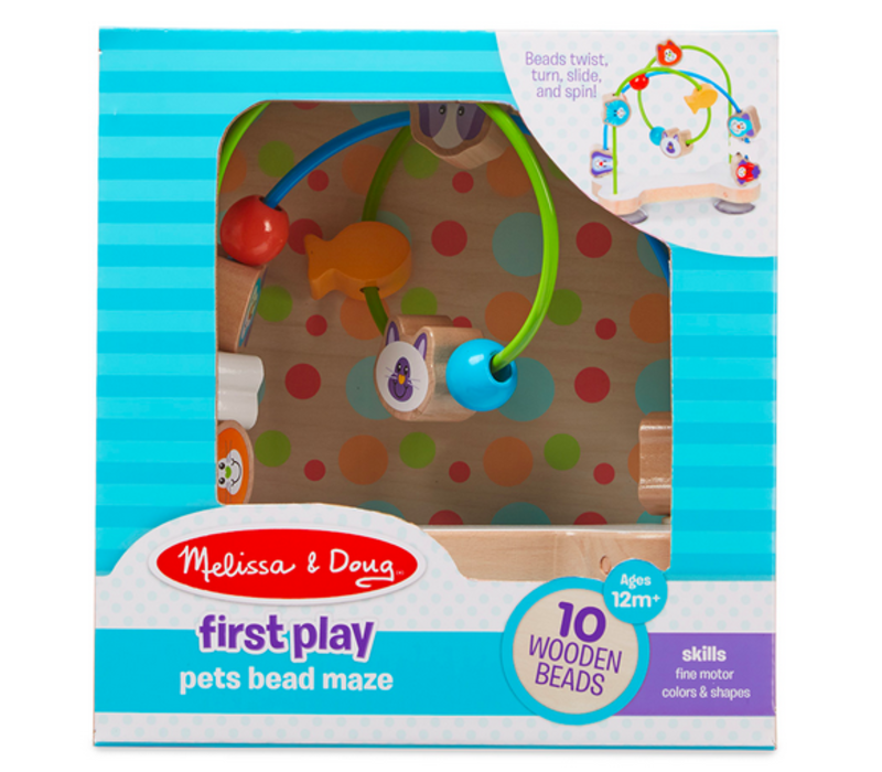 Copy of Pets Bead Maze - Labyrinthe de billes, les animaux