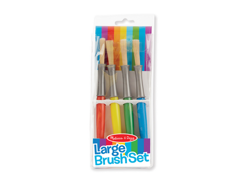Melissa & Doug Large Brush Set - Ensemble de gros pinceaux