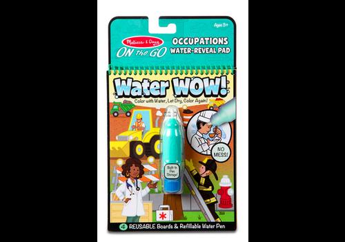 Melissa & Doug Water wow Occupations - Dessins révélation à l'eau, les métiers