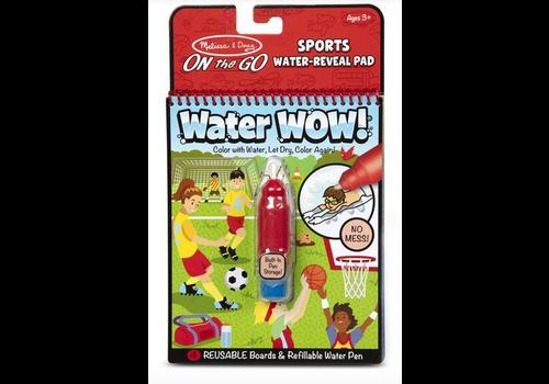 Melissa & Doug Water wow Sports - Dessins révélation à l'eau, les sports