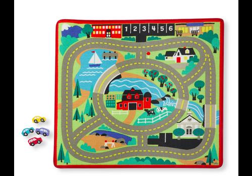 Melissa & Doug Road Rug - Tapis de jeu pour voitures
