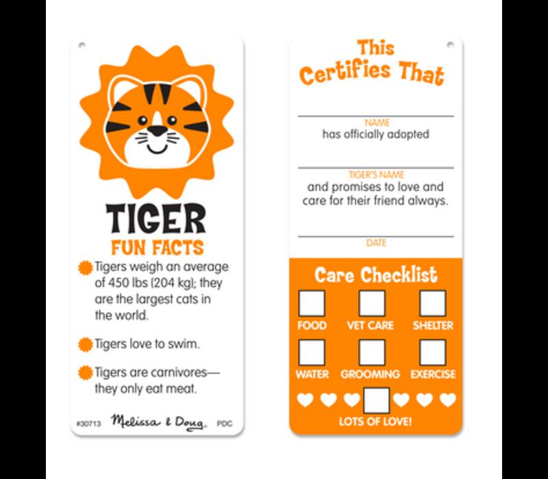 Cuddle Tiger - Tigre à câliner