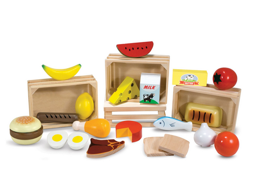 Melissa & Doug Food Groups - Les groupes alimentaires