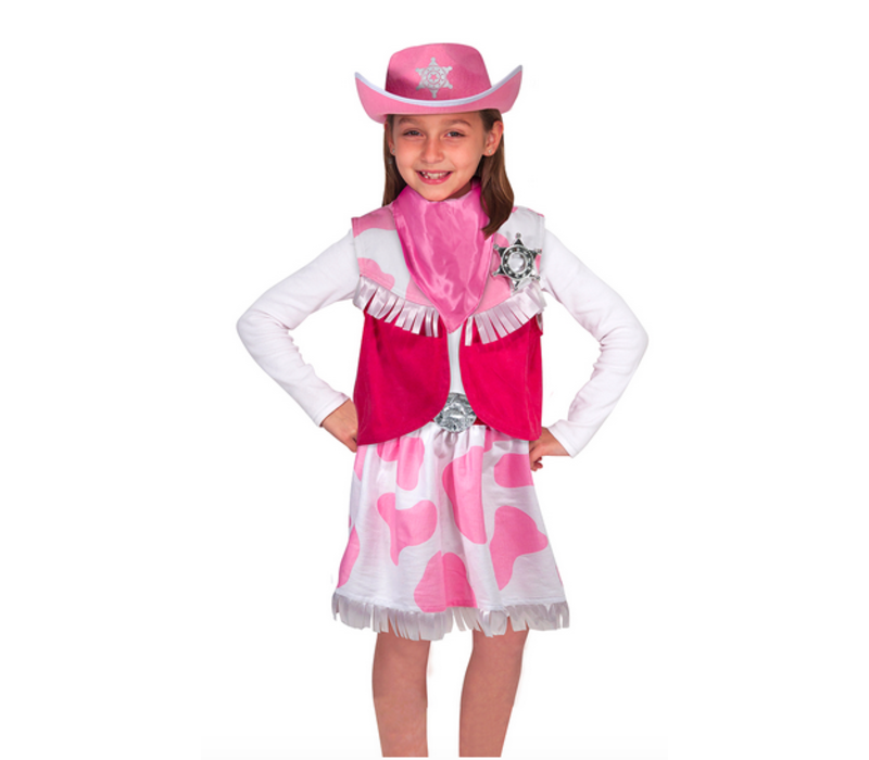 Cowgirl  - Déguisement de cowgirl
