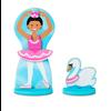 Melissa & Doug Ballerina & Fairy - Ensemble magnétique en bois Ballerines
