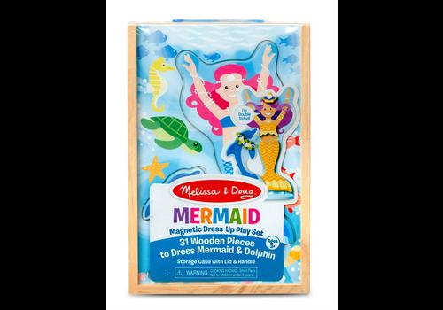 Melissa & Doug Mermaid - Ensemble magnétique en bois les sirènes
