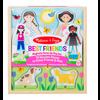 Melissa & Doug Copy of Best Friends - Ensemble magnétique en bois meilleurs amis