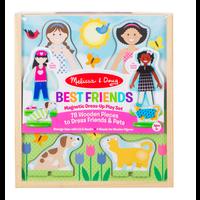 Copy of Best Friends - Ensemble magnétique en bois meilleurs amis