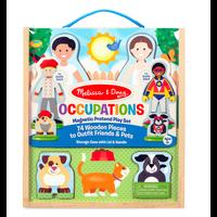 Copy of Occupations - Ensemble magnétique en bois - les métiers