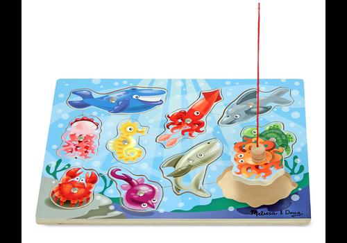 Melissa & Doug Fishing Game - Jeu casse-tête la pêche