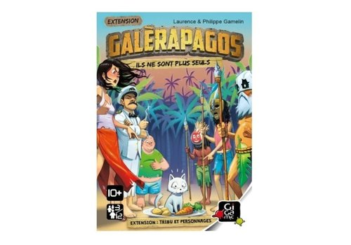 Gigamic Galérapagos Extension tribu et personnages