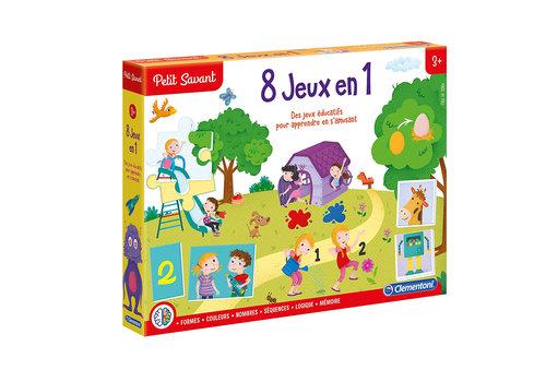Clementoni Jeu éducatif 8 jeux en 1