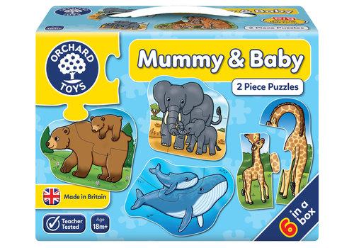 Orchard Toys casse-tête 2 morceaux Maman et bébé