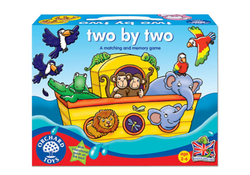 Orchard Toys Jeu éducatif, two by two (multilingue)