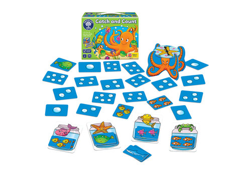 Orchard Toys Jeu catch and count (multilingue)