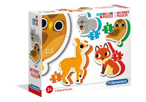 Clementoni Mon premier casse-tete : Les animaux de la forêt