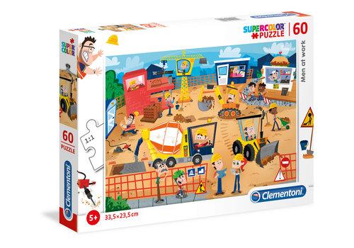 Clementoni Casse-tête 60 morceaux : Les travailleurs