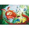 Clementoni Casse-tete 180 morceaux : Le dragon et le chevalier