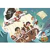 Clementoni Casse-tête 104 morceaux : Les pirates