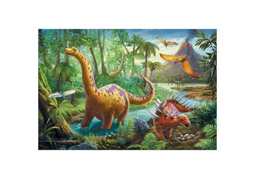 Casse-tête 60 morceaux : Migration des dinosaures