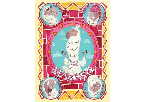 Casse-tête 500 morceaux : Lamas