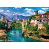 Casse-tête 500 morceaux Pont de Mostar - 500 pieces puzzle