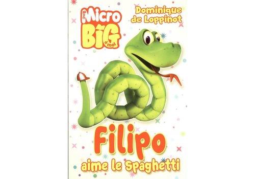 Filipo aime le spaghetti