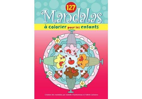 127 mandalas à colorier pour les enfants (sundae)