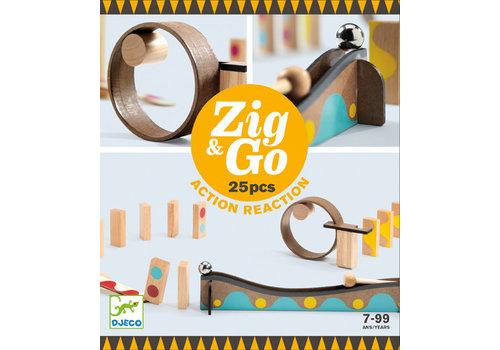 Djeco Zig & go / 25 morceaux