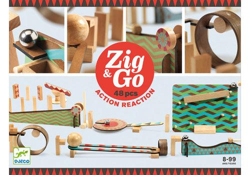 Djeco Zig & go / 48 morceaux