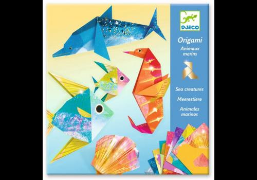 Djeco Origami - Créatures de la mer