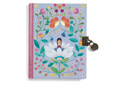 Lovely Paper Carnet secret - Marie - Journal intime avec cadenas