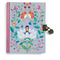 Carnet secret - Marie - Journal intime avec cadenas