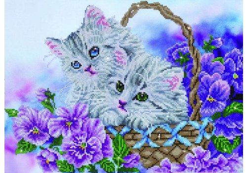 Diamond Dotz Diamond Dotz - Kitty Basket