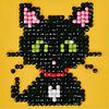 Diamond Dotz - Ens. de départ Green eye cat