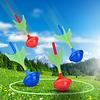 go zone Go! Zone- Jeu de fléchettes phosphorescentes